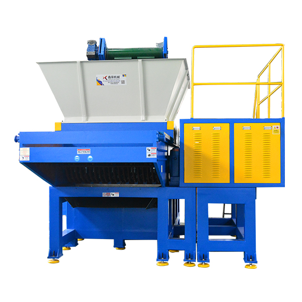 Movable hopper shredder